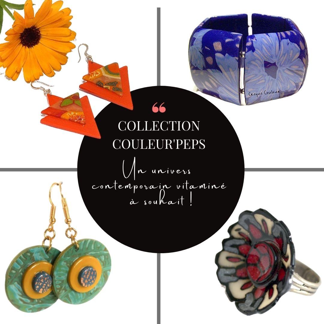 bijoux aux couleurs peps