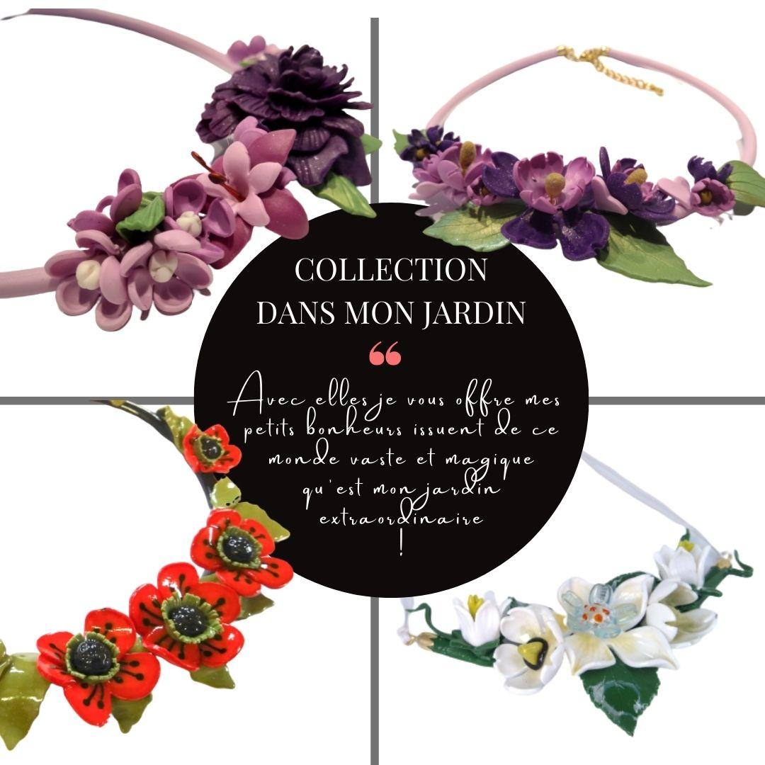 bijoux faits main romantiques et fleuris